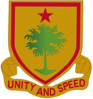 314th Cavalry Regiment (United States) - Image: 314th Cavalry Regiment DUI