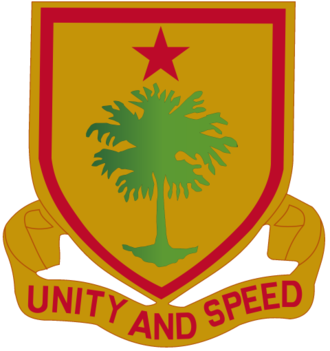314th Cavalry Regiment (United States) - Image: 314th Cavalry Regiment DUI