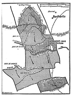 32nd Infantry Division (United States) - Operations of the 32nd Infantry Division in World War I in crossing the Hindenburg Line.