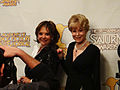 38th Annual Saturn Awards - Dawn Wells and Barbara Eden (13971789467).jpg