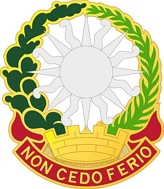 3rd Air Defense Artillery Regiment - Image: 3 ADA Rgt DUI