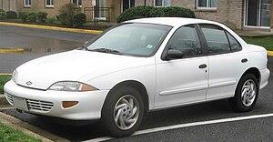 Chevrolet Cavalier - Image: 3rd Chevrolet Cavalier