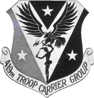 419th Operations Group - Emblem of the 419th Troop Carrier Group (1950s)