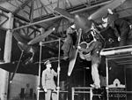 462 Squadron RAAF Halifax Mk II engine maintenance AWM SUK12129.jpg