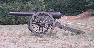 11th Independent Battery Indiana Light Artillery - Image: 4 5Ordnance Rifle