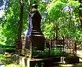 5253. Novodevichye cemetery. Graves of L.T. Eliseev and E.D. Romanovskaya.jpg