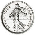 5 French francs Semeuse nickel 1970 F341-2 obverse.jpg