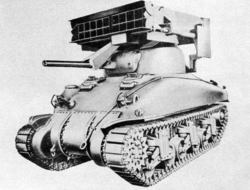 7.2-inch Multiple Rocket Launcher M17 Mounted on Medium Tank.png