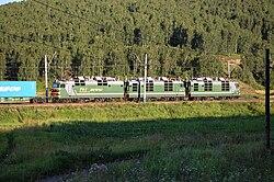 силовая схема электровоза вл80с.