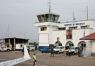 Mbuji Mayi Airport - Image: Aéroport de Mbuji Mayi