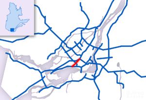 Quebec Autoroute 520 - Image: A 520