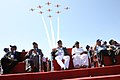 A. K. Antony, the Minister of State for Defence, Dr. M.M. Pallam Raju, the Chief Minister of Karnataka, Shri B S Yeddyurappa, the Air Chief Marshal PV Naik and the Secretary (Defence Production).jpg