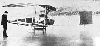 """Thomas Selfridge - """"Red Wing"""" aeroplane"""