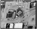 AERIAL VIEW, 1985 - U. S. Border Inspection Station, 103 Cherry Street, Sumas, Whatcom County, WA HABS WASH,37-SUM,1-21.tif