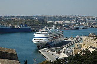 Malta (island) - Valletta's maritime industrial zone