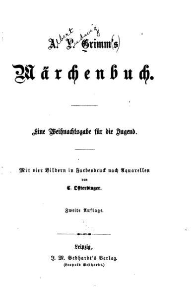 File:A L Grimms Maerchenbuch.djvu