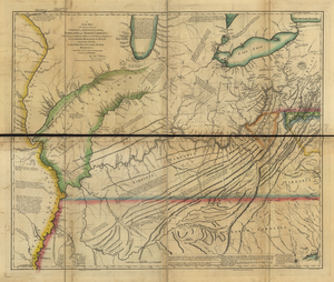 "Thomas Hutchins - ""A New Map of the Western Parts of Virginia, Pennsylvania, Maryland, and North Carolina, 1778"" by Thomas Hutchins, engraved by T. Cheevers, published in 1778 in London."