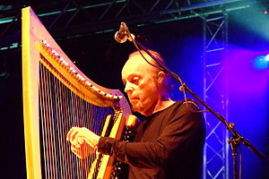 Alan Stivell - Alan Stivell at Nuremberg, Germany, 2007.