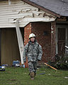 A U.S. Soldier with the 63rd Civil Support Team, Oklahoma Army National Guard conducts search and rescue operations May 21, 2013, in Moore, Okla 130521-Z-BB392-557.jpg