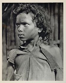 A boy of the Kadu Kuruba tribe from the Western Ghats, Mysore in 1928.JPG