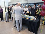 A cake the shape of the UP Express, 2015 06 06 (2) (18581008315).jpg