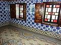 A l'interieur du palais des Rais, Bastion 23 (Parterre en mosaique).JPG
