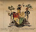 A mock escutcheon for the failed College of Surgeons; Wellcome V0011304.jpg