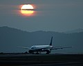 A runway and a Sunset - panoramio.jpg