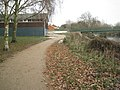 A widened riverside footpath - geograph.org.uk - 2185232.jpg