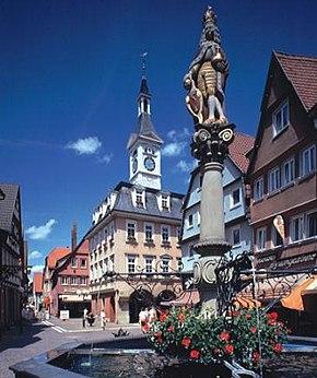 Aalen Unterkochen/Wrttemberg - Ortschaft Unterkochen