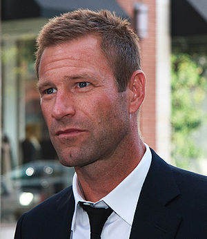 English: Aaron Eckhart at the 2010 Toronto Int...