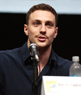 Aaron Taylor-Johnson - Johnson at the 2013 San Diego Comic-Con promoting Godzilla