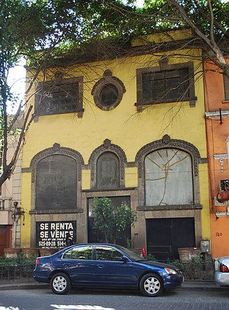 Zona Rosa, Mexico City - Abandoned house from the early 20th century on Hamburgo Street