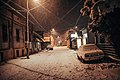 Abandoned city street in Petrovac na Mlavi during the snow storm - 48997450283.jpg