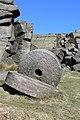 Abandoned millstones beneath Stanage Edge - geograph.org.uk - 694240.jpg