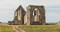 Abbaye Notre-Dame de Ré Île de Ré cycliste Charente-Maritime.jpg
