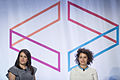 Abbi Jacobson and Ilana Glazer at Internet Week 01.jpg
