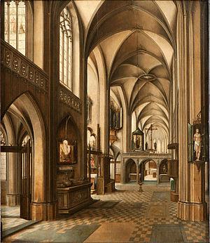 Abel Grimmer - Church interior