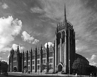 Architecture of Aberdeen - Marischal College