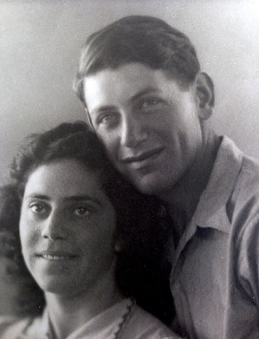 Abraham and Shoshana Ofer 1942