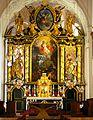 Abteikirche Michaelbeuern Hochaltar.JPG
