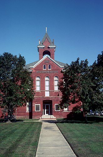 National Register of Historic Places listings in Accomack County, Virginia - Image: Accomack County Courthouse (Built 1899), Accomac ( Accomack County, Virginia)