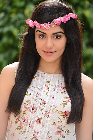 Adah Sharma - Sharma at a photoshoot for SAI in 2015
