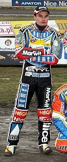 Adrian Miedziński Polish speedway rider