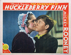 Description de l'image Adventures of Huckleberry Finn lobby card.jpg.