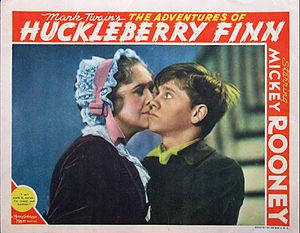The Adventures of Huckleberry Finn (1939 film) - Lobby card