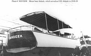 USS <i>Ahdeek</i> (SP-2589)