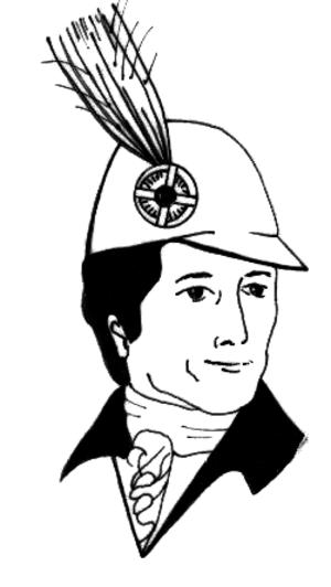 Aigrette - Aigrette on a hat