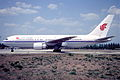 Air China Boeing 767-200; B-2554, May 1996 (5695957246).jpg