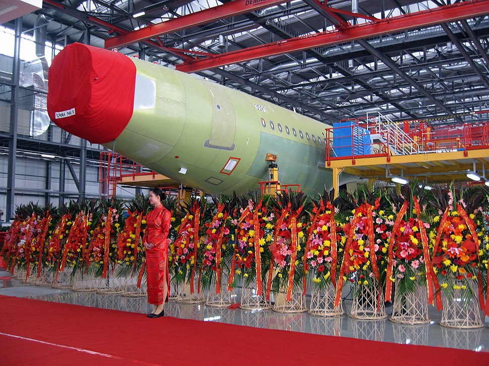 Airbus Tianjin Final Assembly Line in 2008